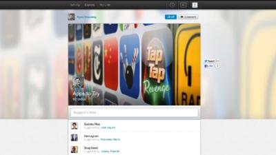 Well, un servicio para crear listas con un giro social y colaborativo