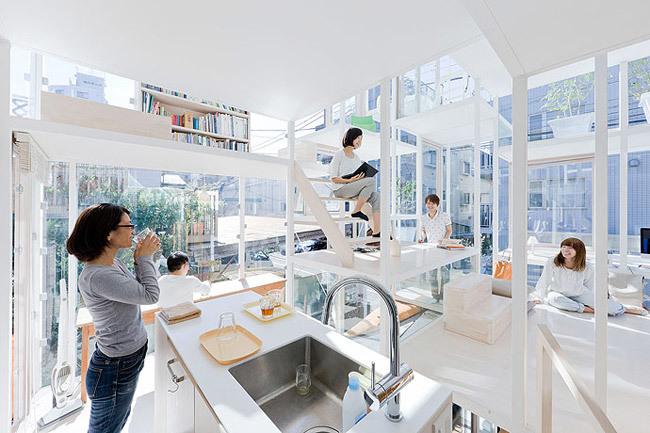 Foto de Casas poco convencionales: una casa completamente transparente (9/14)