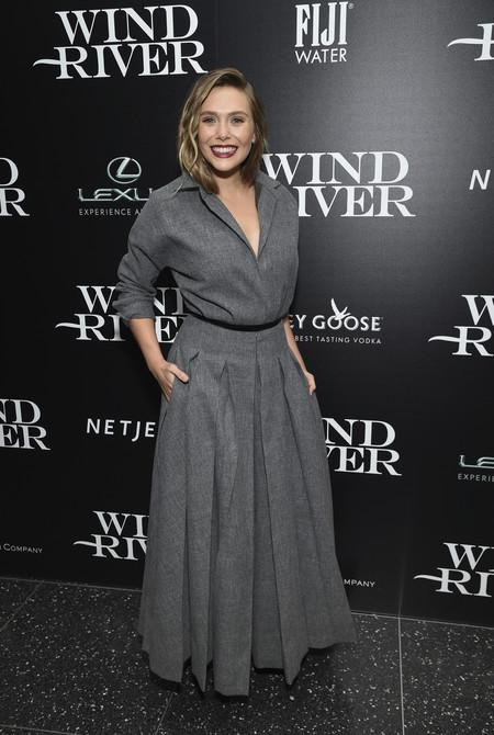 elizabeth olsen premiere wind river look estilismo outfit