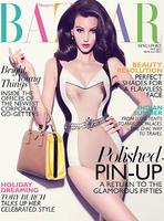 Como si fuera una muñeca, llega la portada de Harper's Bazaar Singapur