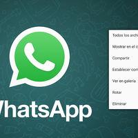 WhatsApp para Android renueva el menú para las imágenes, ahora con nuevas opciones