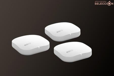 El pack de tres unidades del potente router eero Pro de Amazon compatible con HomeKit está 150 euros más barato por San Valentín