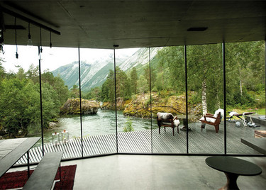 Una casa icónica por aunar arquitectura y naturaleza de manera increíble, escenario de Ex Machina
