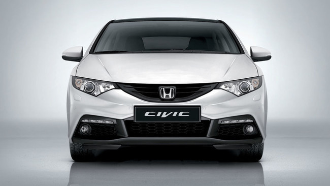 Honda Civic con el kit Aero Pack