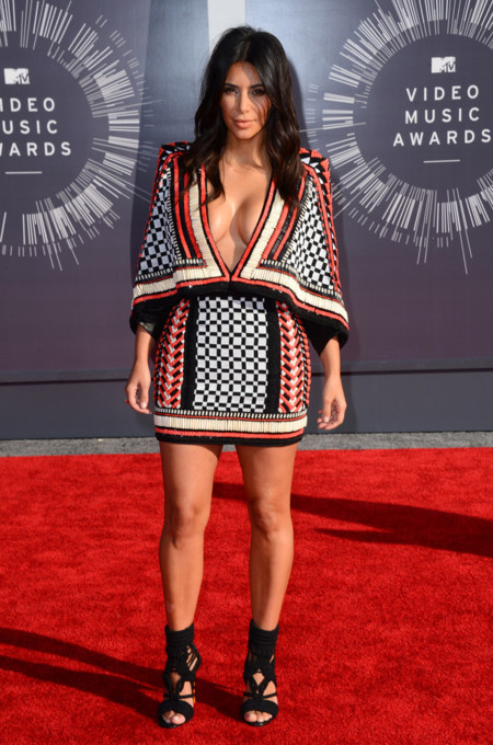 Kim Kardashian de Balmain