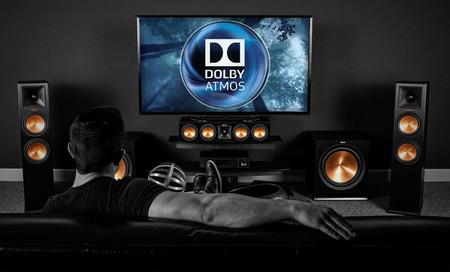 Home Cinema con Dolby Atmos, sonido en 24 bits