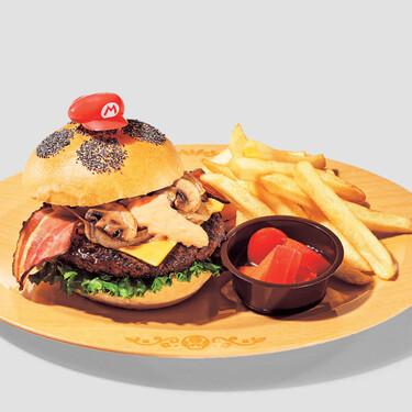 Super Nintendo World, el 'Disneyland' de Super Mario, está a punto de abrir y ya nos tienta con su divertida comida
