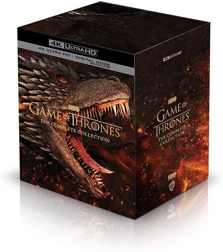 Serie completa de Game of Thrones en 4K de oferta en Amazon México