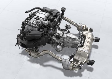 Porsche 718 Cayman GT4 motor