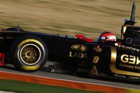 Robert Kubica primero en la última jornada de test en Valencia