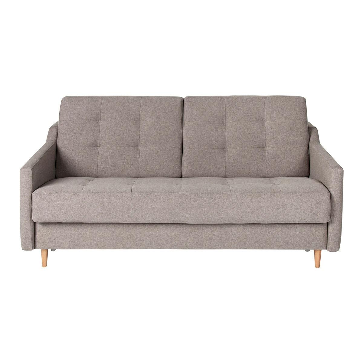Sofá cama tapizado de 3 plazas Neris