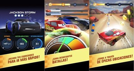 Cars: la Liga de Rayo: ya disponible en Google Play el juego inspirado en Cars 3