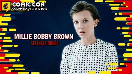 Comic Con Colombia 2017 tendrá como invitada a Millie Bobby Brown, de Stranger Things