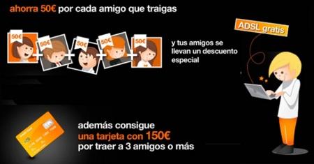 Descuentos de hasta 250 euros por traer amigos a Orange