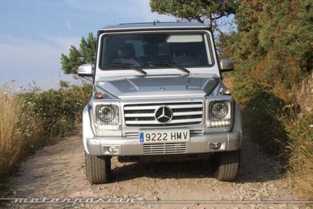 Mercedes Clase G 350 BlueTEC L frontal