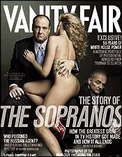 Los Soprano portada de Vanity Fair en abril