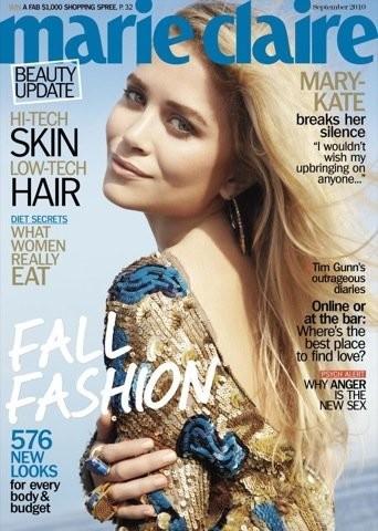 Mary-Kate Olsen protagoniza tres portadas para Marie Claire
