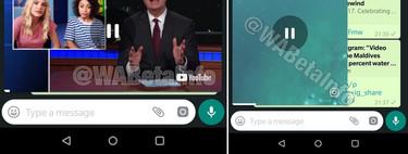 El modo Picture in Picture llega a WhatsApp para Android: ya podemos ver vídeos sin dejar de chatear
