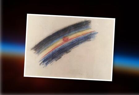 El primer dibujo hecho en el espacio (y la odisea para ir ahí, hacerlo y sobrevivir de vuelta)