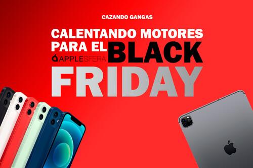 Ultimando preparativos para el Black Friday: rebajas en el iPhone 12, accesorios Apple y dispositivos Amazon en Cazando Gangas