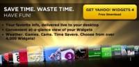 Yahoo! Widget 4 ya disponible