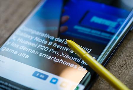 El Samsung Galaxy Note 9 empieza a recibir la beta de Android 9 Pie con Samsung One UI