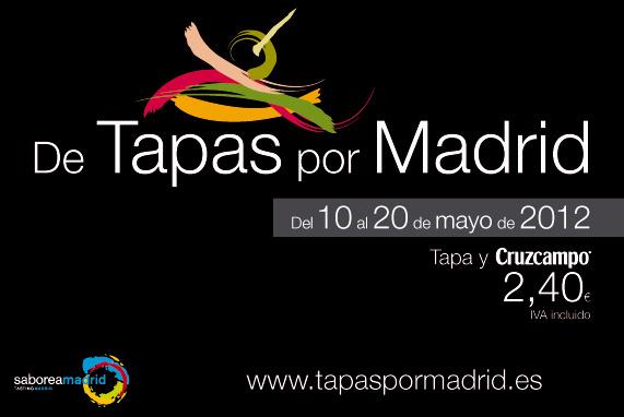 De Tapas por Madrid 2012