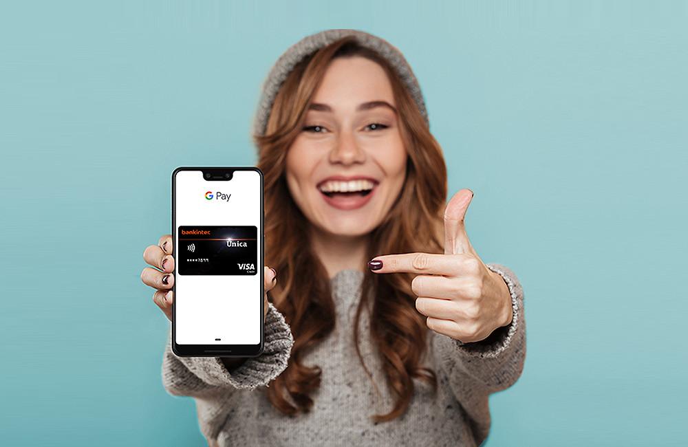 Google Pay ya concede asociar las tarjetas de Bankinter y Carrefour Pass para pagar con el móvil