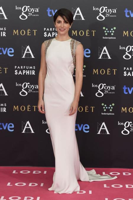 Barbara Lennie en los Premios Goya 2015