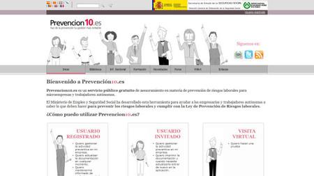 Prevención 10, servicio público gratuito para la prevención de riesgos laborales