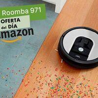 En Amazon tienes el robot aspirador Roomba 971 más barata que nunca: ahora cuesta 371 euros con casi 130 de rebaja