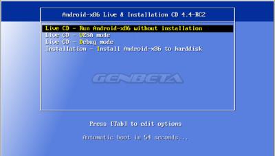 Android-x86: así es la versión de Android para PC (parte 2)