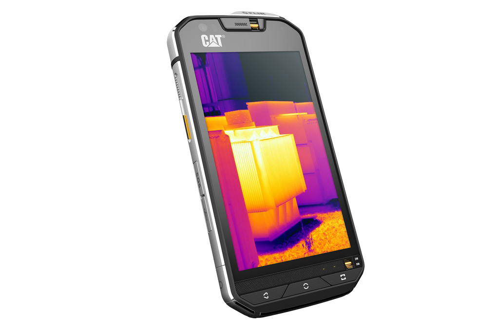 3b6405df1aa Cat S60, el próximo acorazado de Cat será el primer smartphone Android con  cámara térmica del mundo