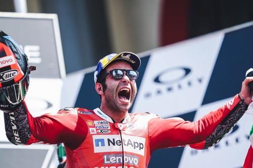 Danilo Petrucci: El 'Cinderella Man' de Ducati que ha golpeado por primera vez en MotoGP