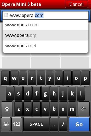 Opera Mini 5 Beta ya se puede descargar