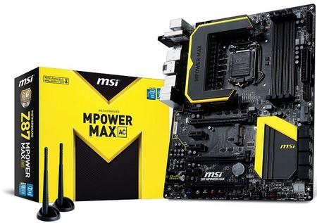 MSI actualiza motherboard Z87 MPower MAX con WiFI 802.11ac