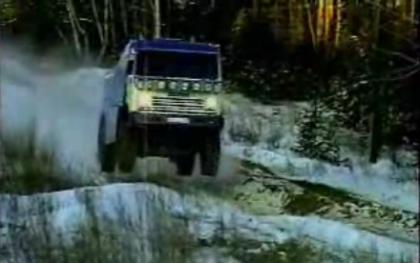Los camiones del Dakar nos demuestran lo que valen