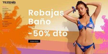 Rebajas de baño en Tezenis: hasta 50% de descuento de decenas de bañadores y bikinis