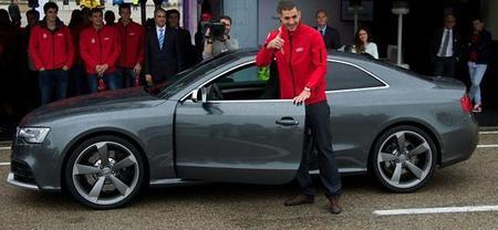 Karim Benzemá Audi RS5