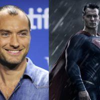 Jude Law rechazó ser Superman... por el traje