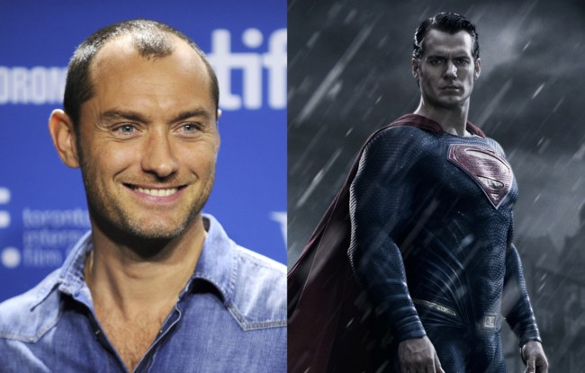 Jude Law pudo ser Superman