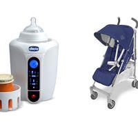 Ofertas del día Amazon en artículos para bebés como calientabiberones, pañales o sillas de paseo