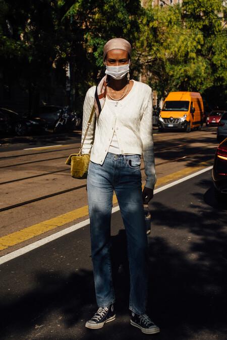 pañuelo en el pelo street style