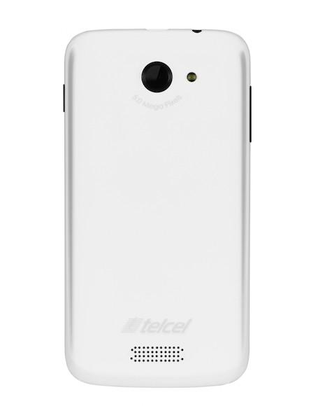Lanix Ilium W250 Blanco Posterior