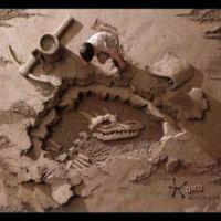 JOOheng Tan y sus esculturas de arena como fondo fotográfico