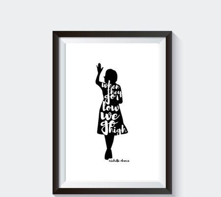 print feminista arte