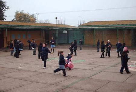 patio del colegio