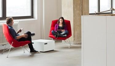 Power cube, una mesa de centro inteligente de estilo minimalista