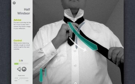 TieSight, una aplicación para Apple que nos ayuda a hacer el nudo de corbata