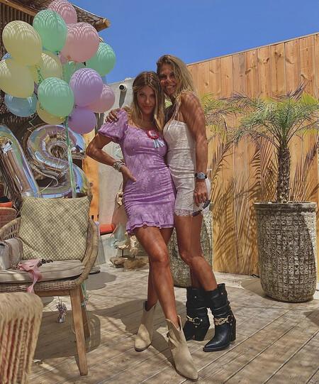 Anita y Makoke en Marbella